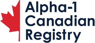 Alpha1 Canadian Registry Logo