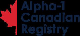 Alpha1 Canadian Registry Logo